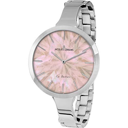 Jacques Lemans Women's La Passion 44mm Steel Bracelet Quartz Watch 1-2032C