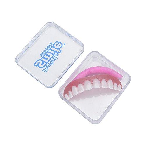 e Komfort Fit Flex Falsche Zahnprothesen Zähne Kosmetisch BP (Instant Lächeln Zähne Für Erwachsene)