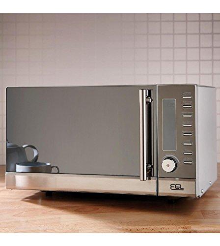 25 Litre 900W Silver Digital Microwave