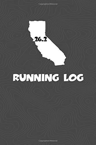 Running Log: Blank Lined Journal for anyone that loves California, running, marathons! por KwG Creates