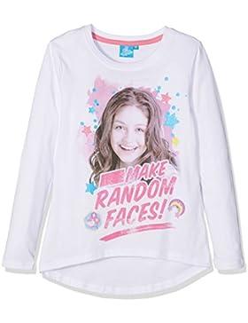 Disney Soy Luna Ragazze Maglietta maniche lunghe 2016 Collection - bianco