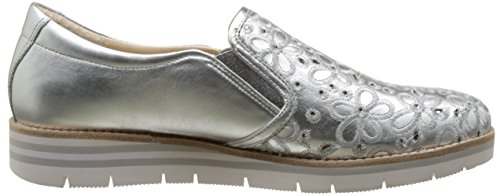 Gabor Comfort, Sneakers Basses Femme Argent (silber 10)