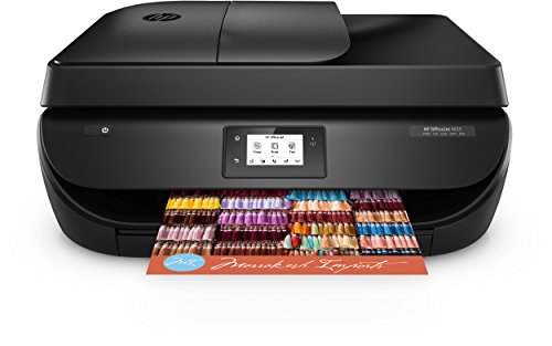 HP OfficeJet 4655 Multifunktionsdrucker (Drucker, Scanner, Kopierer, Faxen, HP Instant Ink ready, Duplex, WiFi, HP ePrint, Apple Airprint,   4.800 x 1.200 dpi) schwarz