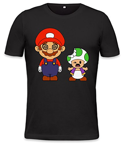 Preisvergleich Produktbild Super Mario High Trippy Acid Trippy Trip Lsd High Mens T-shirt X-Large