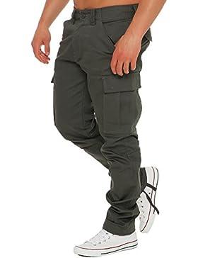 Finchman Herren Cargo F1001 Hose Lang Trousers Pant Freizeithose Regular Fit