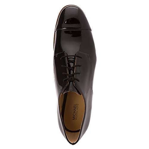 Chaussures à lacets Michael Kors Pierce en vernis noir Black