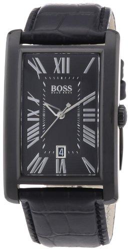 Hugo Boss 1512709 - Orologio da polso da uomo, analogico, al quarzo, cinturino in pelle