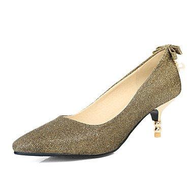 Zormey Frauen Heels Fr¨¹hling Sommer Herbst Winter Club Schuhe Kundenspezifischen Materialien Hochzeit Party & Amp Abendkleid Stiletto Heelsequin Imitation Pearl US6.5-7 / EU37 / UK4.5-5 / CN37