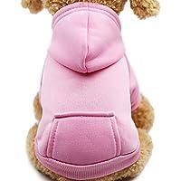 MOMEY Mascota Perro suéter clásico Jersey Contiene Sombrero Caliente Invierno Cachorro Mascota Abrigo Suave suéter Ropa añadir Terciopelo