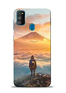PRINT STATION Printed Back Case Cover for Samsung Galaxy M30s - 6621
