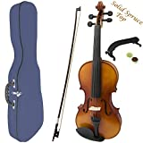 Theodore Premium Series 4/4 Size Violin with Blue Case