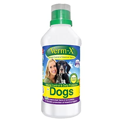 Verm-X - Herbal Liquid for Dogs x Size: 500 Ml 1