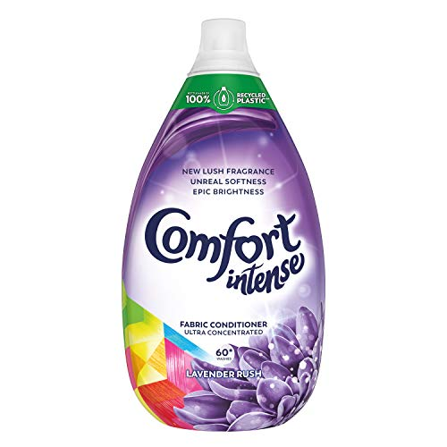 Comfort Intense Fabric Conditioner Liquid, Lavender, 900 ml
