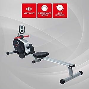 Ultrasport Drafter Rudergerät, Rudermaschine für Rudersport und Oberkörpertraining, mit Trainingscomputer und 8 Widerstandsleveln