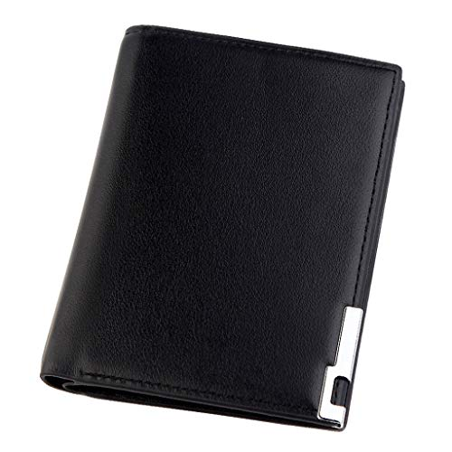 Quaan Herren Short Modische MultiCard Slim Leder Geldbörse Kartenhalter Tasche