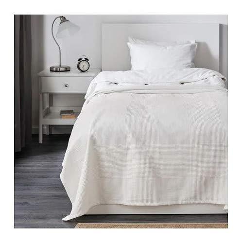 IKEA Indira Tagesdecke in weiß; 100% Baumwolle; (230x250cm)