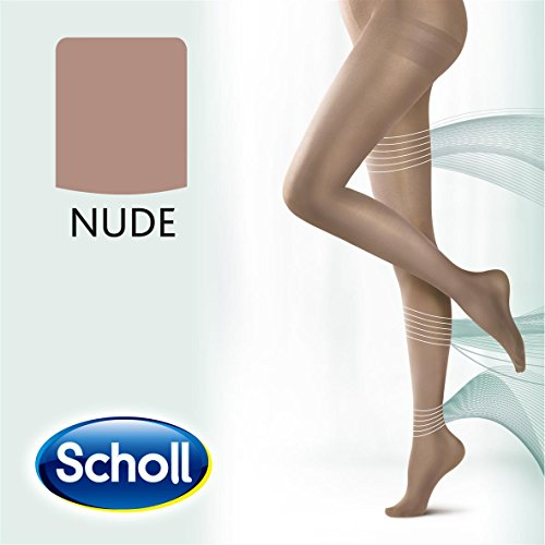 Scholl Light Legs Strumpfhose für ein leichtes Beingefühl, 20 DEN, hautfarben, L, Anti-Laufmaschen-Technologie, 1 Stück (Support Strumpfhose Light)