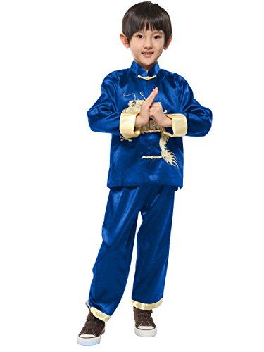 Yodensity Kinder Jungen Kung Fu Anzug Chinesischen Drachen -