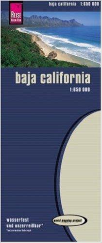 World Mapping Project, Baja California 1:650.000, Kartenbild 2seitig, klassifiziertes Stra§ennetz, Ortsindex, GPS-tauglich, wasserfest imprŠgniert ( Folded Map, 20. Mai 2005 ) Baja Gps