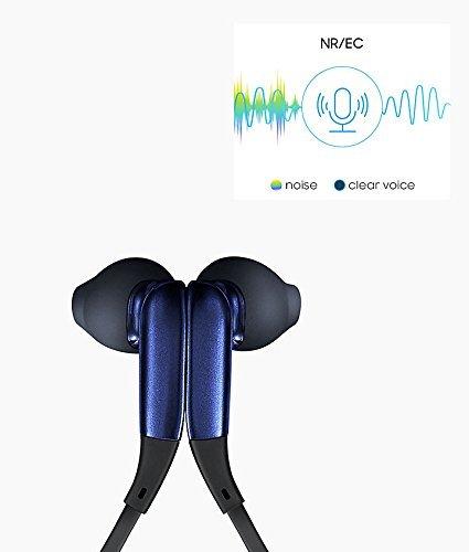Samsung Original EO-BG920BBEGIN Bluetooth Wireless in-Ear Headphones (Black-Sapphire)