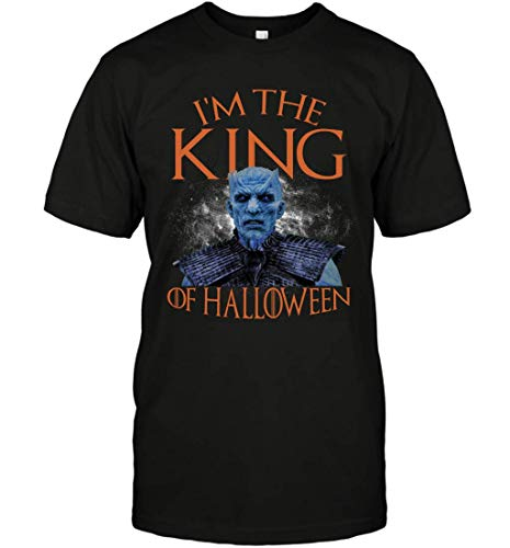 I_m The King of Halloween Night King Funny G.O.T_sFan Shirt (Group Halloween-ideen Für 4)