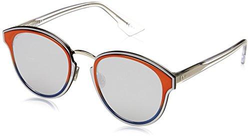 Dior Damen DIORNIGHTFALL 0T L7Q Sonnenbrille, (Orange/Grey Silver AR), 63