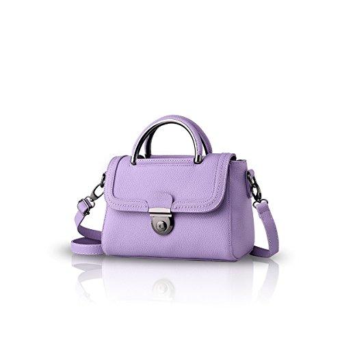Bilis, Borsa a mano donna small, Red (rosso) - Bilis-053 Purple