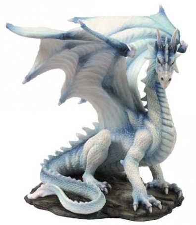 White Dragon of Wisdom Figurine 20cm