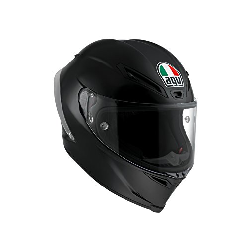 AGV Casco Moto Corsa R E2205 Solid PLK, Nero, S