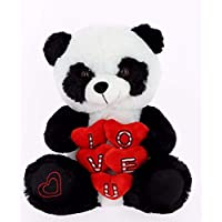 Bimar Peluche Oso Panda 5 Corazones 42 cm