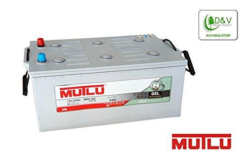 Batterie Mutlu Gel 210Ah 12V Positive A links