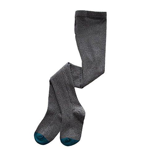 XuxMim Kinder Baby Mädchen Socken Elastizität Strumpfhosen stricken Splice Socken Strumpfhosen Tanzen Hosen