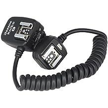 Pixel 3.6M TTL 1/8000s Off Cámara Cable de conexión Cable para cámaras Canon y flash