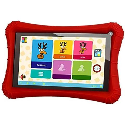 Xoro 730 Tablet da bambino, colore: blu, 17,8 cm (7