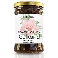 Leaf & Nectar Natural Gulkand   with Kesar & Elaichi - Prepared Using Damask Rose & Rock Sugar   Natural Organic (1)