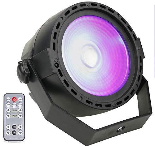 UV LED Beleuchtung, Latta Alvor Strobe Lampe LED Bar Licht Multicolor & UV Bühnenbeleuchtung DMX512 und Sound Aktiviert Partylicht Effektlicht Disco Lichter DJ UV Beleuchtungfür Party (uv)