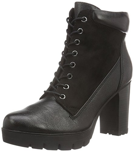 Tamaris Damen 25296 Combat Boots, Schwarz (Black 001), 41 EU