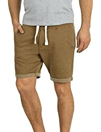 Blend Timo Short en Sweat Bermuda Jogging Pantalon Court pour Homme Doublure Polaire