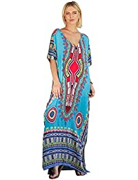 COCO clothing Kleider Damen Sommer Blumendruck Strandkleider Fashion lang  kleider Fledermausärmel Casual 656f2b349b