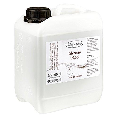 Glycerin 99.5% von Doktor Klaus im 2.5 L HDPE Kanister.