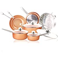 Juego de utensilios de cocina de 11 piezas - Juego de utensilios de cocina de inducción