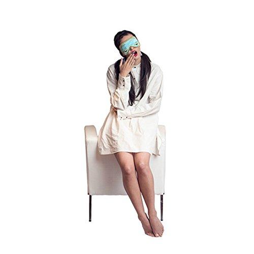 Audrey Hepburn Frühstück bei Tiffany der komplette Schlaf Set Holly Golightly Kostüm Schlafmaske, Ohrstöpsel und Smoking Schlaf Shirt (petite mit ()