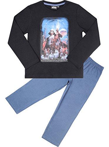 lafanzug aus Baumwolle EP2082 (Schwarz/Jeans (2082), 10 Jahre-140) ()