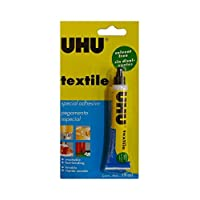 UHU Textile Solvent Free Fabric Glue 19ml