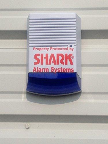 Dummy Decoy House Alarm Box – Solar Powered – Includes Batteries