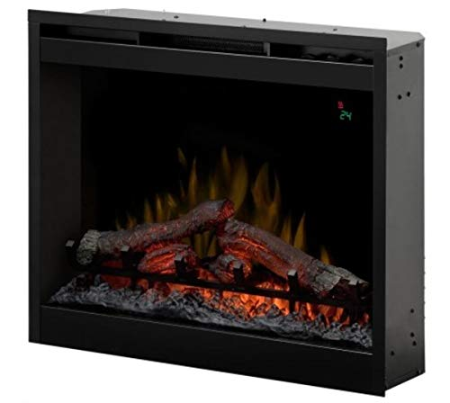 EWT DF2624L EU Interior Log Insert Fireplace Eléctrico Negro - Chimenea (690...
