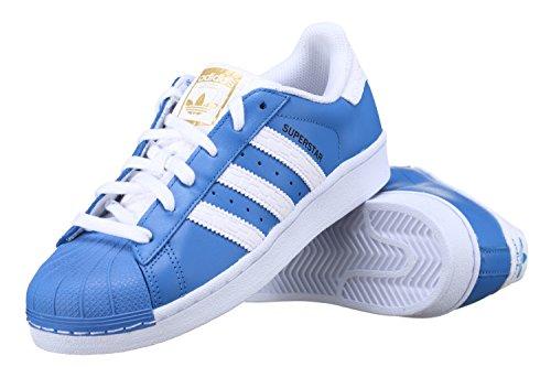 Adidas Superstar Schuhe ray blue-running white-runnning white – 45 1/3 - 2