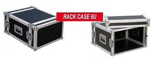 JV CASE RACKCASE 6U PROFESIONAL 19PULGADAS FLIGHTCASE (6U) ESTRUCTURA ESTABLE DE 9MM CONTRACHAPADO Y 2DE EXTRAIBLE TAPA
