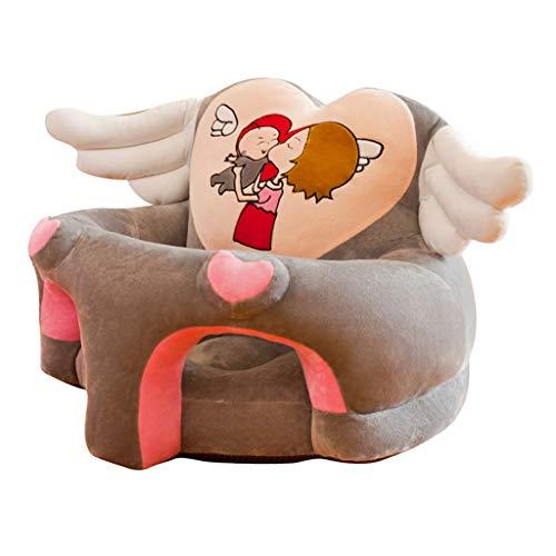 Fenteer Baby Sitzstuhl Bezug Sitzsack Hussen Überzug Überwurf Stretchbezug Stretchhussen