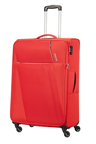 AMERICAN TOURISTER Joyride - Spinner 79/29 Expandable Equipaje de mano, 79 cm, 106.5 liters, Rojo (Flame Red)